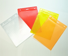 ซองพลาสติก XL เลเซอร์หลังสี