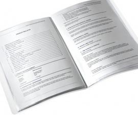 Display Book สีชมพู