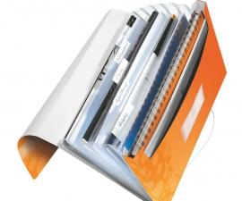 แฟ้มกระเป๋าเก็บเอกสาร Project File ยี่ห้อไลซ์ สีส้ม